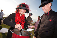 """Karen and Greg Hanson won the Del Mar Rotary's Chili Cook-Off with their """"Honky Tonk Chili"""" recipe, inspired by a pair of vintage shoes given to Mrs. Hansen by her late aunt."""