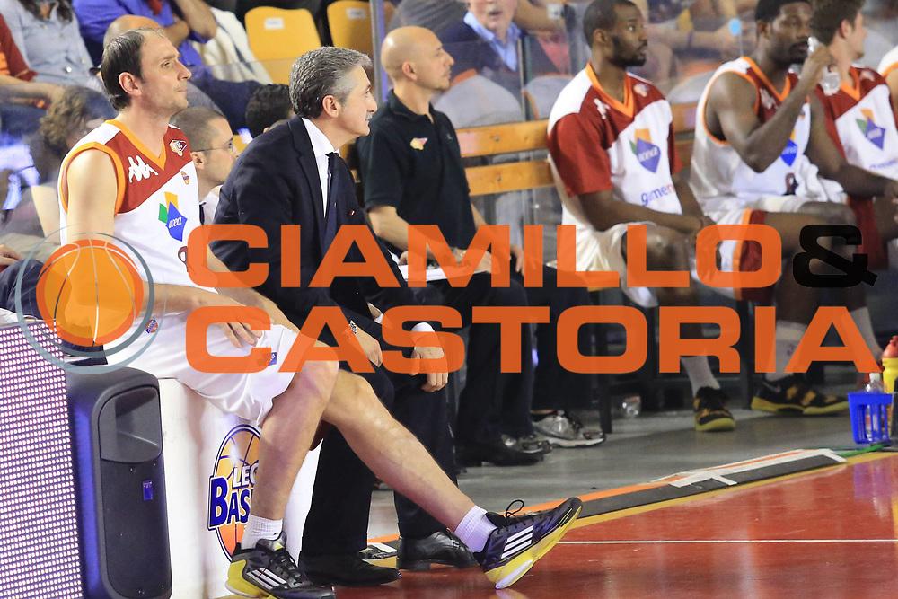 DESCRIZIONE : Roma Lega A 2012-2013 Acea Roma Trenkwalder Reggio Emilia playoff quarti di finale gara 2<br /> GIOCATORE : Tonolli Alessandro<br /> CATEGORIA : cambio<br /> SQUADRA : Acea Roma<br /> EVENTO : Campionato Lega A 2012-2013 playoff quarti di finale gara 2<br /> GARA : Acea Roma Trenkwalder Reggio Emilia<br /> DATA : 11/05/2013<br /> SPORT : Pallacanestro <br /> AUTORE : Agenzia Ciamillo-Castoria/M.Simoni<br /> Galleria : Lega Basket A 2012-2013  <br /> Fotonotizia : Roma Lega A 2012-2013 Acea Roma Trenkwalder Reggio Emilia playoff quarti di finale gara 2<br /> Predefinita :