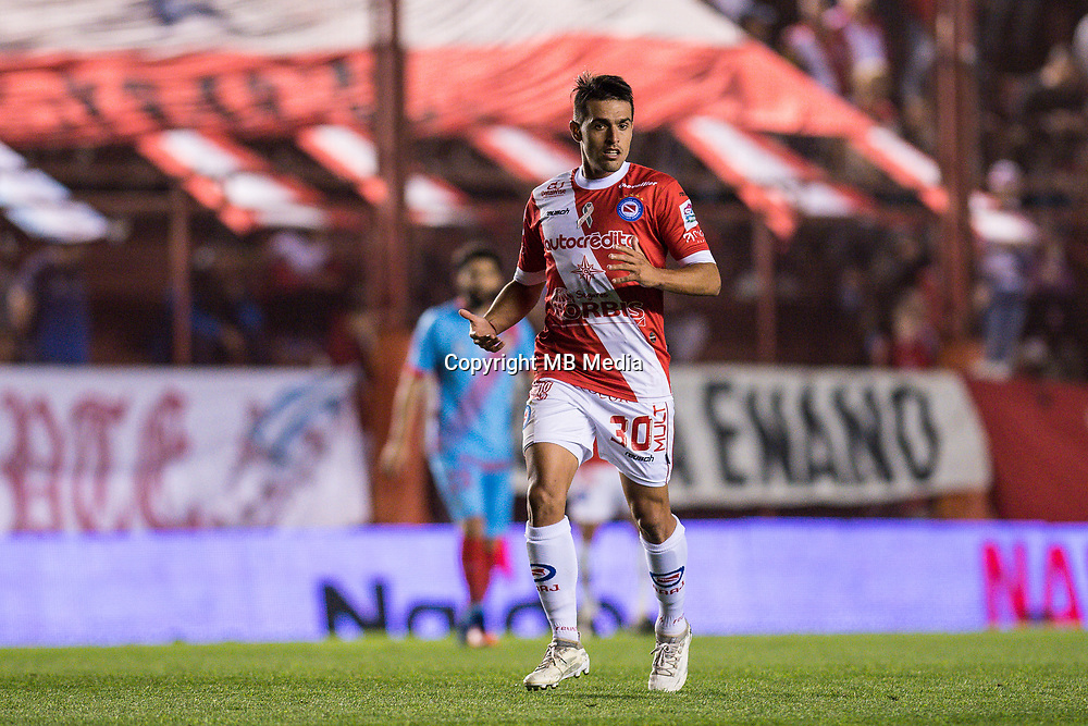 BUENOS AIRES, ARGENTINA - 2017 OCTOBER 27. Argentines Juniors (30) Fausto Montero during the Superliga Argentina match between Argentinos Juniors and Arsenal Sarandi at Diego Armando Maradona Stadium, <br /> ( Photo by Sebastian Frej )