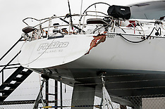 Whangarei-Yacht Platino in yard following death of crew member