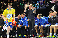 Patrice Canayer - 15.03.2015 - Montpellier / Kielce - 1/8Finale aller Ligue des Champions<br /> Photo : Andre Delon / Icon Sport