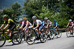 Cecilie Uttrup Ludwig (DEN) on the final climb at Giro Rosa 2018 - Stage 6, a 114.1 km road race from Sovico to Gerola Alta, Italy on July 11, 2018. Photo by Sean Robinson/velofocus.com