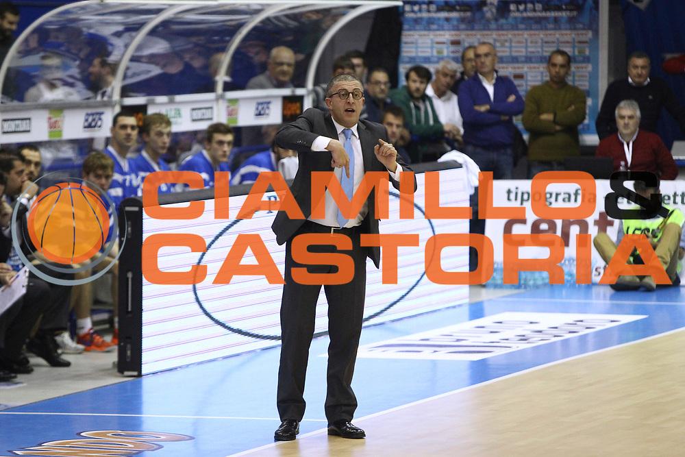 DESCRIZIONE : Capo dOrlando Lega A 2014-15 Orlandina UPEA Basket Acqua Vitasnella Cantu  <br /> GIOCATORE :  Giulio Griccioli<br /> CATEGORIA :  Head Coach Ritratto<br /> SQUADRA : Orlandina UPEA Basket Acqua Vitasnella Cantu  <br /> EVENTO : Campionato Lega A 2014-2015 <br /> GARA : Orlandina UPEA Basket Acqua Vitasnella Cantu  <br /> DATA : 14/12/2014<br /> SPORT : Pallacanestro <br /> AUTORE : Agenzia Ciamillo-Castoria/G. Pappalardo <br /> Galleria : Lega Basket A 2014-2015 <br /> Fotonotizia : Capo dOrlando Lega A 2014-15 Orlandina UPEA Basket Acqua Vitasnella Cantu