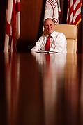 University of Alabama President Stuart Bell.  Staff Photo | Gary Cosby Jr.