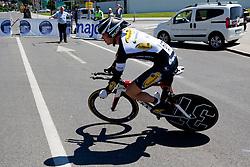VAN VOOREN Steven of Topsport Vlaanderen during warm-up at chronometer (17,8km) of Tour de Slovenie 2012, on June 17 2012, in Ljubljana, Slovenia. (Photo by Matic Klansek Velej / Sportida.com)