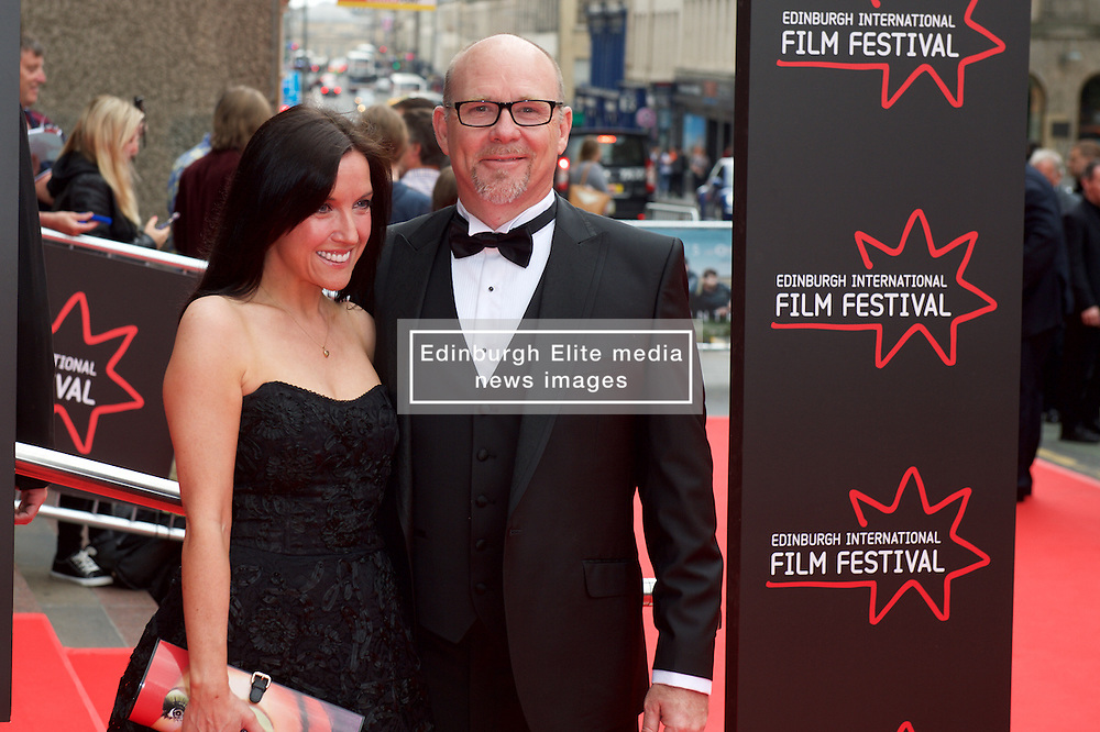 Jason Connery and Mia Sara on the red carpet at the Edinburgh International Film Festival Opening Night Gala of the UK  Premier, God's Own Country directed by Francis Lee at Edinburgh's Festival Theatre. Wednesday 21st June 2017(c) Brian Anderson | Edinburgh Elite media