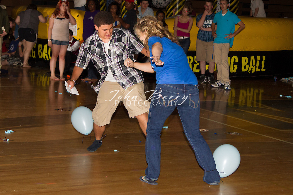 "Madison County High School After Prom 2012.  Theme:  ""A Step in Time"", ""Childhood Memories-Class of 2012""."