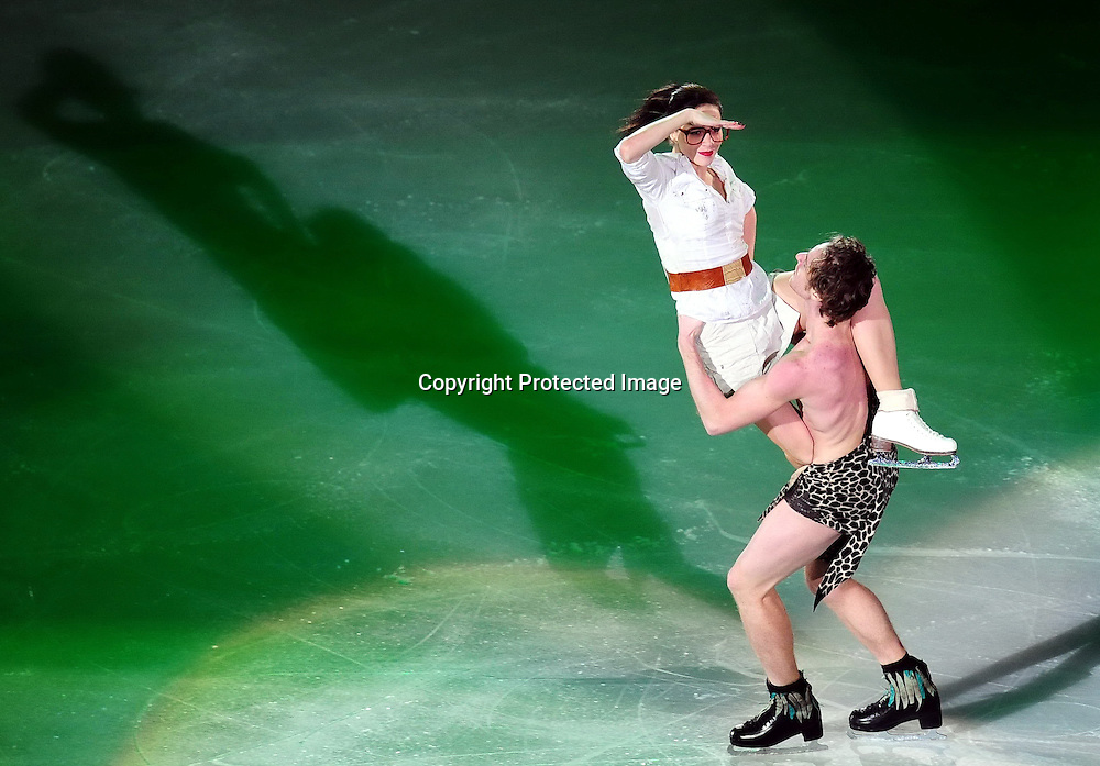 Dec 12, 2010; Beijing, CHINA; performs during ISU Grand Prix and Junior Grand Prix Final at Beijing Capital Gymnasium.