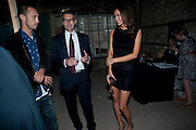 SASHA VOLKOVA; JAMES PALUMBO, Early launch of Rupert's. Robin Birley  new premises in Shepherd Market. 6 Hertford St. London. 10 June 2010. .-DO NOT ARCHIVE-© Copyright Photograph by Dafydd Jones. 248 Clapham Rd. London SW9 0PZ. Tel 0207 820 0771. www.dafjones.com.