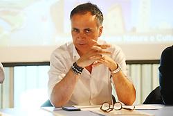 ANDREA CORSINI ASSESSORE REGIONALE AL TURISMO<br /> CONVEGNO VACANZE CULTURA COMACCHIO MANIFATTURA MARINATI