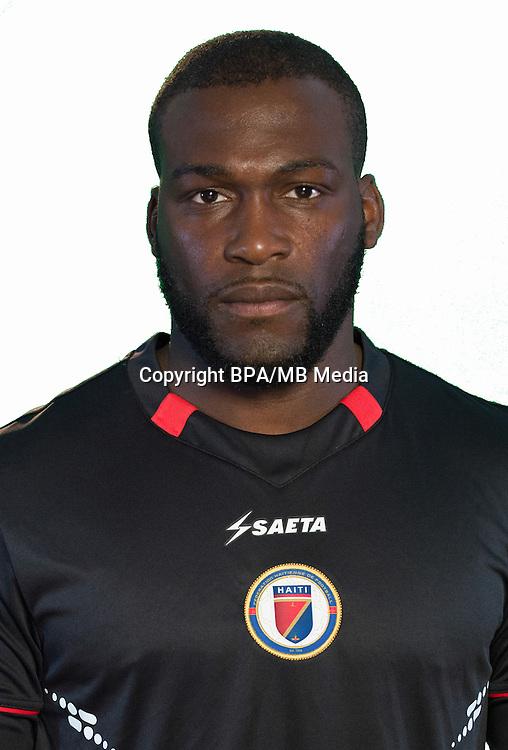 Football Conmebol_Concacaf - <br />Copa America Centenario Usa 2016 - <br />Haiti National Team - Group B - <br />Johnny Placide