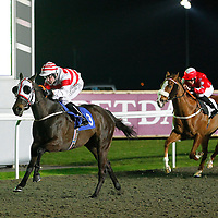 Hill Of Dreams and Robert Winston winning the 7.05 race