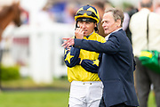 Universal Order ridden by Stevie Donohoe and trained by David Simcock in the Cmd Recruitment Novice Stakes race.  - Ryan Hiscott/JMP - 24/05/2019 - PR - Bath Racecourse - Bath, England - Friday 24th May 2019 Race Meeting at Bath Racecourse