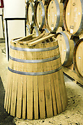 barrel making at the Ararat is an Armenian brandy that has been produced by the Yerevan Brandy Company since 1887. Photographed at the Ararat distillery Armenia