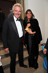 COUNT LEOPOLD & COUNTESS DEBONAIRE VON BISMARCK at the Royal Rajasthan Gala 2009 benefiting the Indian Head Injury Foundation held at The Banqueting House, Whitehall, London on 9th November 2009.