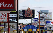 US-ORLANDO-Advertising. PHOTO: GERRIT DE HEUS.VS - ORLANDO - Een woud aan reclame-uitingen in toeristenstad Orlando. PHOTO GERRIT DE HEUS