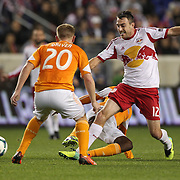 Eric Alexander, New York Red Bulls, in action during the New York Red Bulls V Houston Dynamo , Major League Soccer second leg of the Eastern Conference Semifinals match at Red Bull Arena, Harrison, New Jersey. USA. 6th November 2013. Photo Tim Clayton