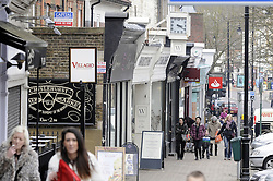 © Licensed to London News Pictures. 19/03/2013.Chislehurst High Street today..Smash and grab robbery,Chislehurst, South East London this afternoon 19.03.2013..A gang of men armed with an axe and a sledge hammer have committed a Smash and grab robbery on Nikolas Patrick jewellery shop in Chislehurst High Street in South East London. .Photo credit : Grant Falvey/LNP