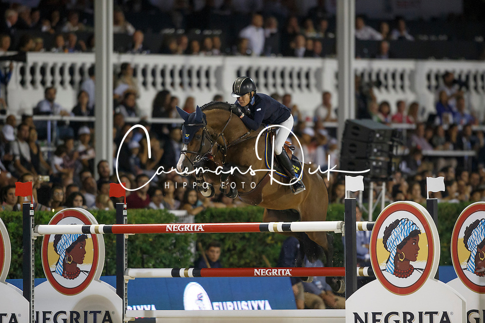 Baryard-Johnsson Malin, (SWE), H&M Tornesch<br /> Final<br /> Furusiyya FEI Nations Cup Jumping Final - Barcelona 2015<br /> © Dirk Caremans<br /> 26/09/15
