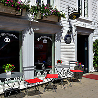 Det Lille Konditori Caf&eacute; in Kristiansand, Norway<br />