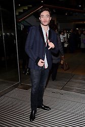 Ed Westwick attends A VIP Gala Performance of Matthew Bourne's Edward Scissorhands at Saddlers Wells Theatre, Rosebery Avenue, London on Sunday 7th December 2014