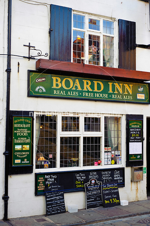 The Board Inn public house at the top end of Church Whitby