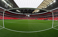 General view of the stadium during the premier league match at Wembley Stadium, London. Picture date 30th April 2018. Picture credit should read: David Klein/Sportimage