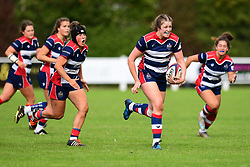 Amelia Buckland-Hurry of Bristol Ladies in action - Mandatory by-line: Craig Thomas/JMP - 17/09/2017 - Rugby - Cleve Rugby Ground  - Bristol, England - Bristol Ladies  v Richmond Ladies - Women's Premier 15s