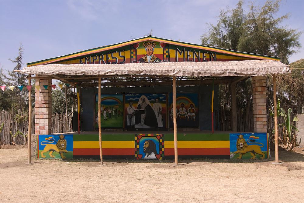 The Rastafari home in Shasheteme, Ethiopia,Africa