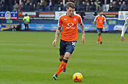 Glen Rea of Luton Town (16) during the EFL Sky Bet League 2 match between Luton Town and Plymouth Argyle at Kenilworth Road, Luton, England on 25 February 2017. Photo by Andy Handley.