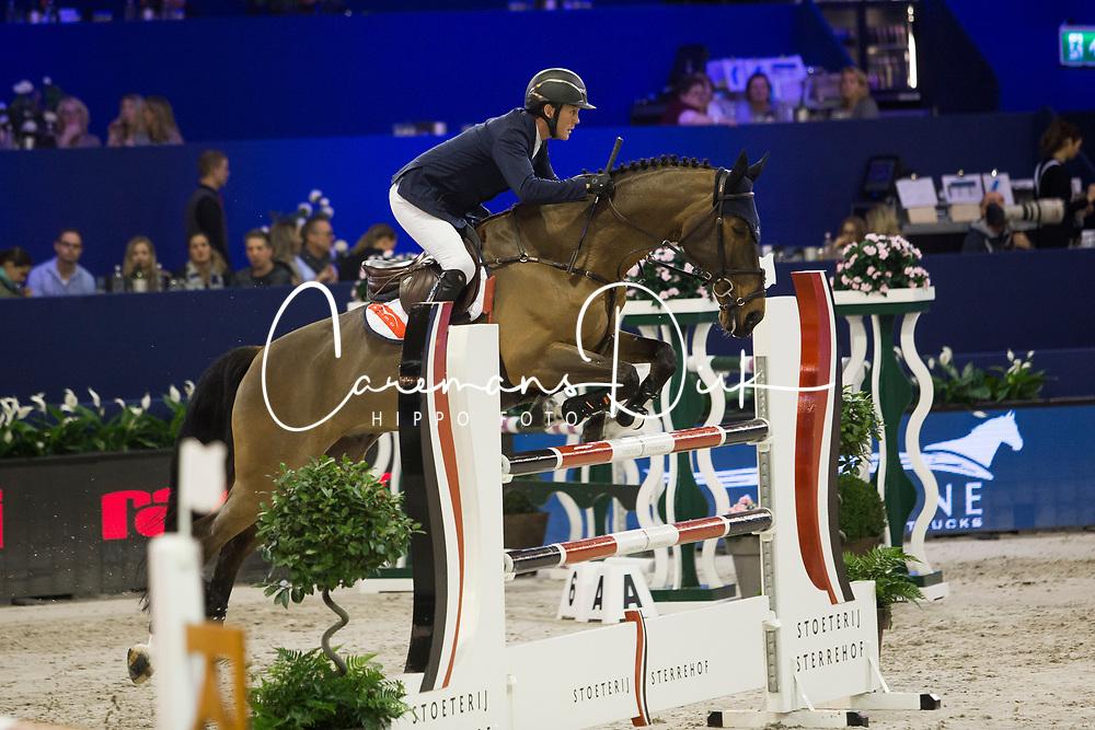 Hanley Cameron, IRL, Aiyetoro <br /> Jumping Amsterdam 2018<br /> © Sharon Vandeput<br /> 26/01/18