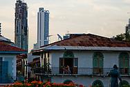Casco antiguo de la ciudad de Panama. El Casco antiguo es la ciudad colonial de Panamá, que fue reconstruida después del saqueo del pirata Henry Morgan. Actualmente conserva su  arquitectura colonial y tiene restaurantes,  tiendas y galerías de arte..Foto: Ramon Lepage / Istmophoto
