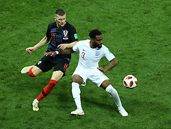 July 11, 2018 - Moscow, Russia - July 11, 2018, Moscow, FIFA World Cup 2018 Football, the playoff round. 1/2 finals of the World Cup. Football match Croatia - England at the stadium Luzhniki. Player of the national team Daniel Rose  (Credit Image: © Russian Look via ZUMA Wire)