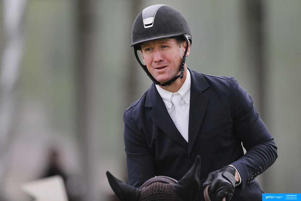 NORTH SALEM, NEW YORK - May 15: McLain Ward, USA, riding Tina La Boheme, in action during The $50,000 Old Salem Farm Grand Prix presented by The Kincade Group at the Old Salem Farm Spring Horse Show on May 15, 2016 in North Salem. (Photo by Tim Clayton/Corbis via Getty Images)