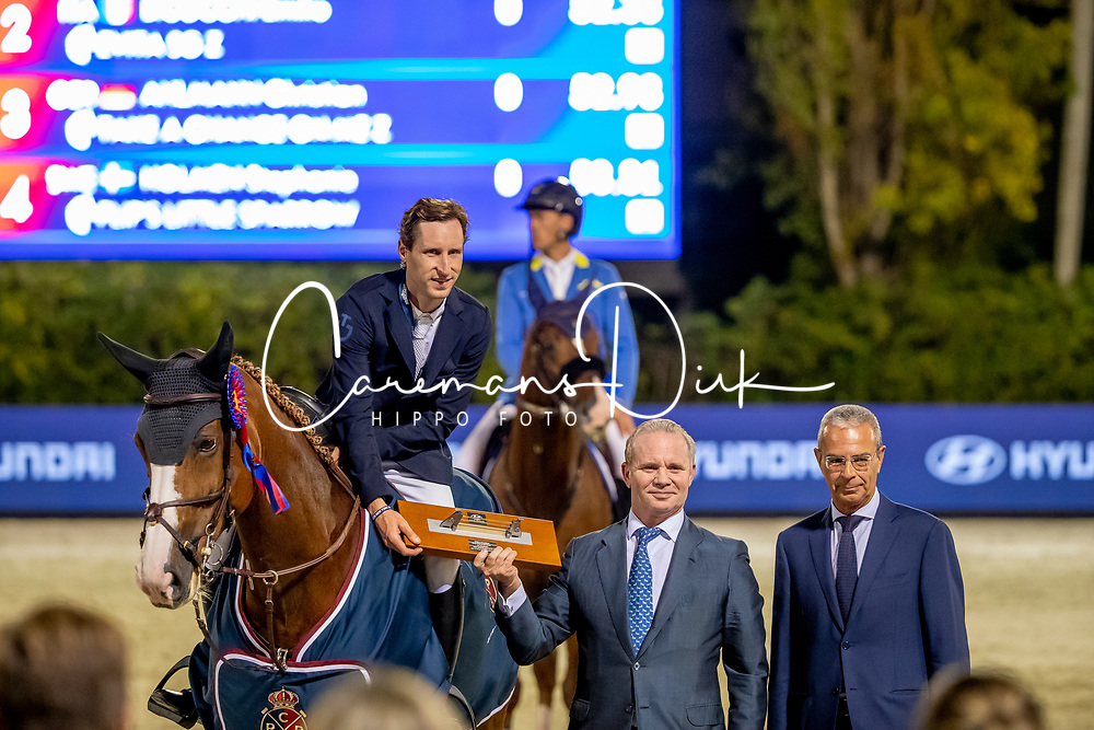 Devos Pieter, BEL, Jade v Bisschop<br /> Hyundai Cup of The City of Barcelona<br /> Barcelona 2019<br /> © Hippo Foto - Dirk Caremans<br />  05/10/2019
