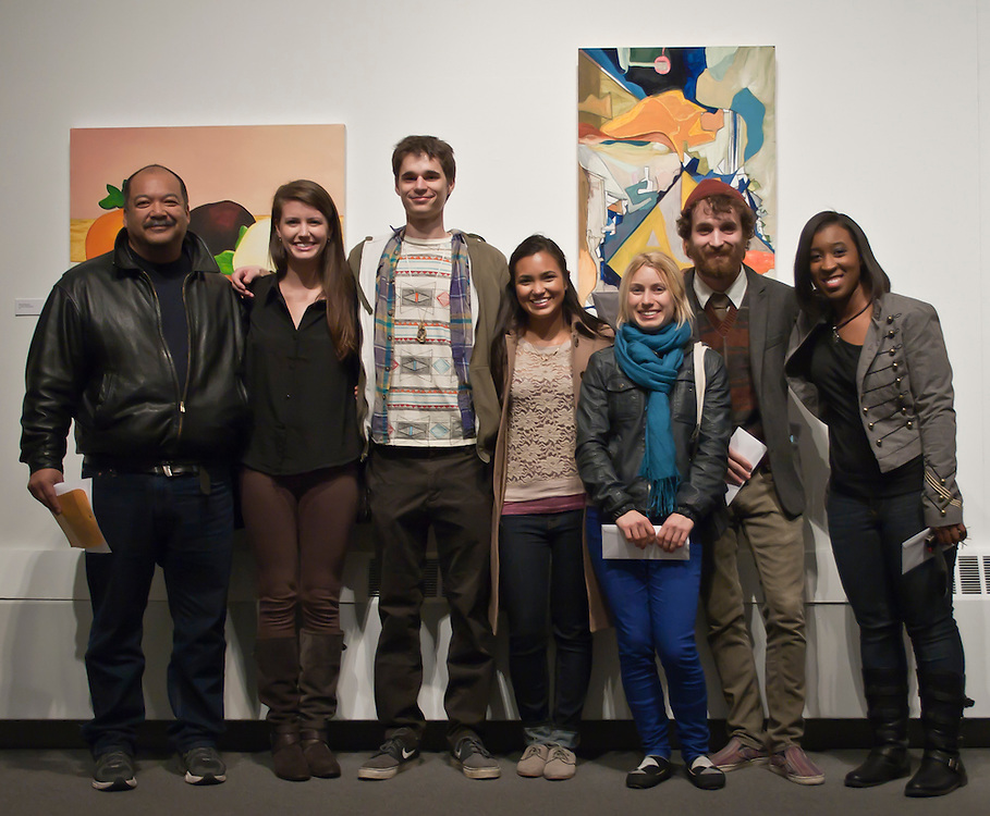 (Third to Far Right)<br />