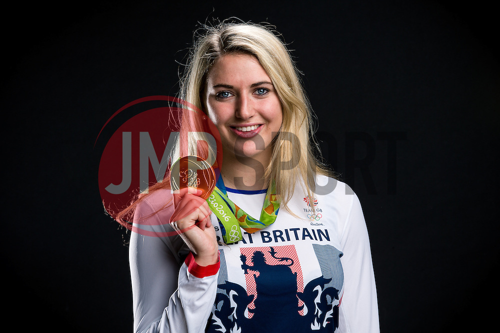 Rio 2016 Olympic Hockey Gold Medallist Lily Owsley poses for a portrait - Rogan Thomson/JMP - 04/11/2016 - HOCKEY - Ashton Gate Stadium - Bristol, England - Bristol Sport Collection Photoshoot.