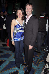 Chef MARCUS WAREING and his wife JANE at the San Pellegrino World's 50 Best Restaurants Awards 2009 at Freemason's Hall, Great Queen Street, London on 20th April 2009.