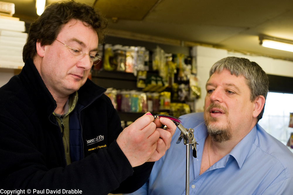 Andy Kitchener (right) The Essential Fly & Tubeology Case Study Feb 2010 Copyright Paul David Drabble