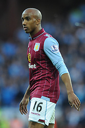 Aston Villa's Fabian Delph - Photo mandatory by-line: Dougie Allward/JMP - Mobile: 07966 386802 - 04/10/2014 - SPORT - Football - Birmingham - Villa Park - Aston Villa v Manchester City - Barclays Premier League