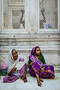 """The khadims, the dargah's caretakers, say, """"According to Islamic law, women are not allowed near graves"""". Delhi, India 2013"""