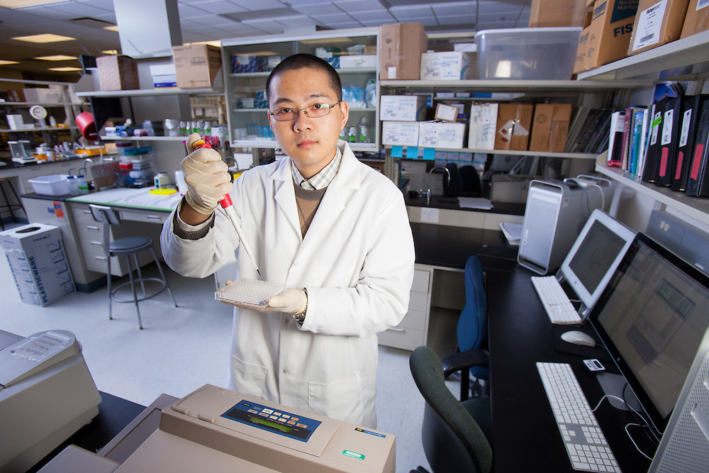 Biochemistry Research Facility Ohio University. © Ohio University / Photo by Jonathan Adams