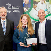 27.04.2016.          <br />  Kalin Foy and Ciara Coyle win SciFest@LIT<br /> Kalin Foy and Ciara Coyle from Colaiste Chiarain Croom to represent Limerick at Ireland's largest science competition.<br /> <br /> Desmond College student, Kayla McMahon's project , Intelligent Fire Extinguisher System won the INTEL Technology Award. Kayla is pictured with George Porter, SciFest and Brian Ahern, Intel<br /> <br /> Of the over 110 projects exhibited at SciFest@LIT 2016, the top prize on the day went to Kalin Foy and Ciara Coyle from Colaiste Chiarain Croom for their project, 'To design and manufacture wireless trailer lights'. The runner-up prize went to a team from John the Baptist Community School, Hospital with their project on 'Educating the Youth of Ireland about Farm Safety'. Picture: Fusionshooters