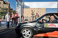 Roma 26 Ottobre 2013<br /> 1&deg; Rally Internazionale di RomaCapitale con partenza da piazza Bocca della Verit&agrave;, evento che riporta le corse su strada nella &ldquo;Citt&agrave; Eterna&rdquo; dopo ben nove lunghi anni di assenza. La partenza delle auto