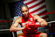 6/24/11 2:39:37 PM -- Colorado Springs, CO. -- A portrait of U.S. Olympic lightweight boxer Queen Underwood, 27, of Seattle, Wash. who will be competing for her fifth title. She began boxing in 2003 and was the 2009 Continental Champion and the 2010 USA Boxing National Champion. She is considered a likely favorite to medal at the 2012 Summer Olympics in London as women's boxing makes its debut as an Olympic sport. -- ...Photo by Marc Piscotty, Freelance.