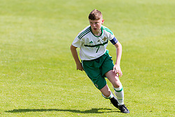 WREXHAM, WALES - Thursday, August 15, 2019: Northern Ireland's Jack Paterson during the UEFA Under-15's Development Tournament match between Wales and Northern Ireland at Colliers Park. (Pic by Paul Greenwood/Propaganda)