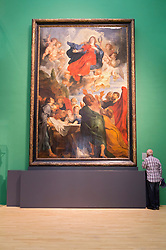 The Assumption of St. Mary by Peter Paul Rubens at the Museum Kunst Palast or Art Palace Museum in Dusseldorf in Germany