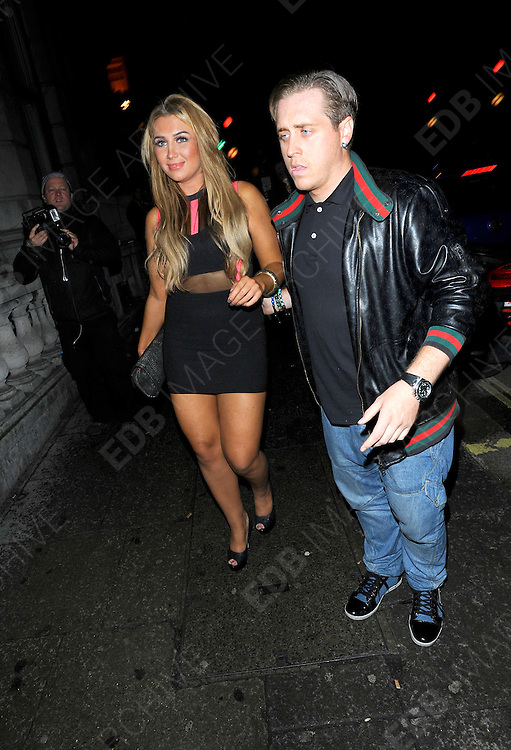 25.OCTOBER.2011. LONDON<br /> <br /> LAUREN GOODGER LEAVING THE AURA NIGHTCLUB IN CENTRAL LONDON<br /> <br /> BYLINE: EDBIMAGEARCHIVE.COM<br /> <br /> *THIS IMAGE IS STRICTLY FOR UK NEWSPAPERS AND MAGAZINES ONLY*<br /> *FOR WORLD WIDE SALES AND WEB USE PLEASE CONTACT EDBIMAGEARCHIVE - 0208 954 5968*