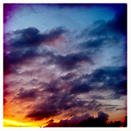 Cloudy Sunset - Houston, TX