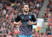 Sheffield Wednesday defender Daniel Pudil (36) during the Sky Bet Championship match between Bristol City and Sheffield Wednesday at Ashton Gate, Bristol, England on 9 April 2016. Photo by Adam Rivers.